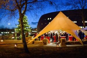 kerstborrel Zernike Campus Groningen organisatie Alfa@work